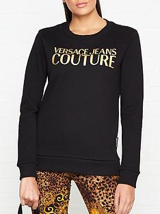 versace-jeans-couture-metallic-logo-sweatshirt-black