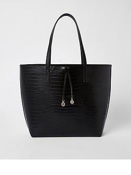 river-island-shopper-black