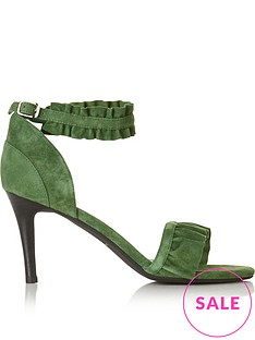 sofie-schnoor-frill-trimmed-heeled-sandals-green