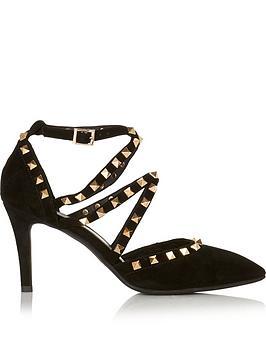 sofie-schnoor-stud-embellished-heeled-sandals-black