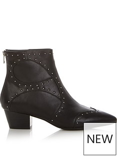 sofie-schnoor-studded-ankle-boots-black