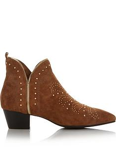 sofie-schnoor-studded-zip-detail-ankle-boots-brown