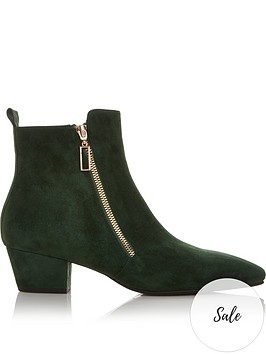 sofie-schnoor-zip-detail-ankle-boots-green