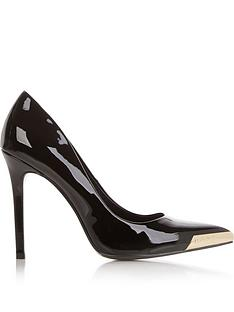versace-jeans-couture-patent-court-shoes-black