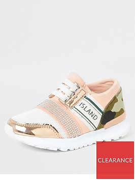river-island-mini-mini-girls-camo-print-runner-trainer-pink