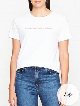 sofie-schnoor-slogan-print-t-shirt-white