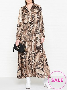 sofie-schnoor-snake-print-maxi-dress-multi