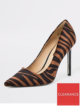 river-island-river-island-animal-print-court-shoe-brown