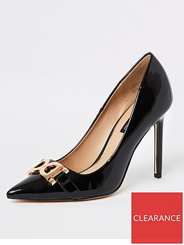river-island-river-island-snaffle-front-court-shoe-black
