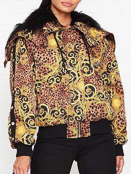 versace-jeans-couture-leopard-baroque-faux-fur-lined-jacket-gold