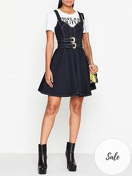 versace-jeans-couture-belted-denim-dress-indigo