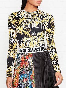 versace-jeans-couture-baroque-logo-bodysuit-blackgold