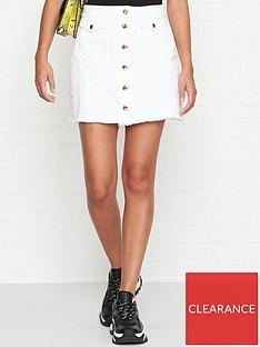 versace-jeans-couture-button-through-denim-skirt-white