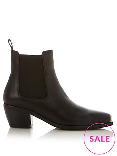 sofie-schnoor-toe-detail-leather-ankle-boots-black
