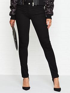versace-jeans-couture-logo-mid-rise-skinny-jeans-black