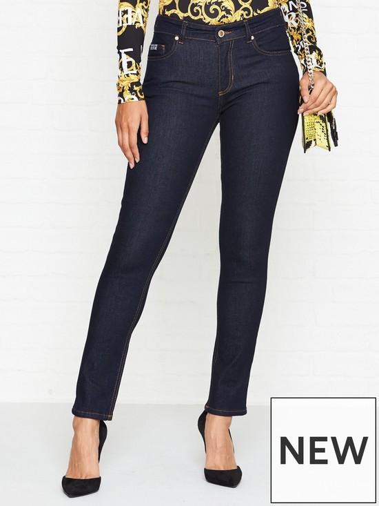 4e89e91b6e Mid Rise Skinny Jeans - Indigo