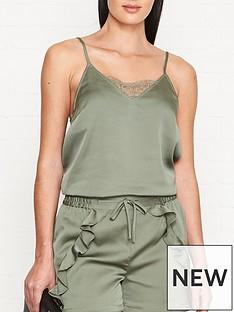 sofie-schnoor-lace-trimmed-cami-vest-khaki