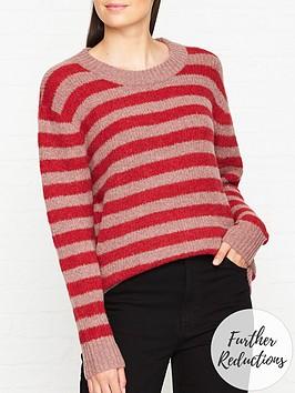 sofie-schnoor-striped-jumper-pink