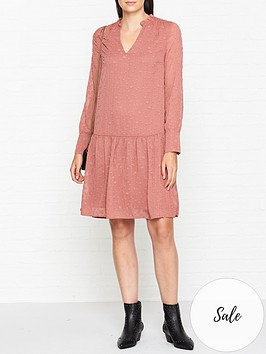 sofie-schnoor-spotted-tunic-mini-dress-pink