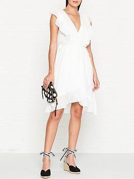 sofie-schnoor-frilled-v-neck-midi-dress-white