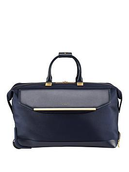 ted-baker-albany-large-trolley-duffle-navy
