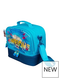 LEGO Movie Lego Movie 2 Compartment Lenticular Lunchbag -Blue