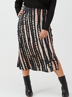 v-by-very-curve-satin-tie-dye-skirt-print