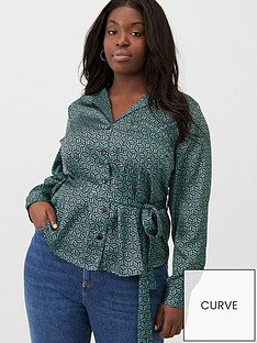 v-by-very-curve-tie-waist-satin-printed-blouse-geo