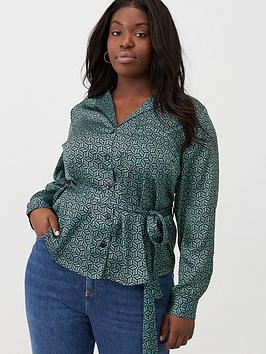 v-by-very-curve-tie-waist-satin-printed-blouse-geo
