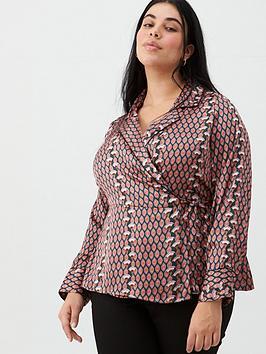 v-by-very-curve-wrap-satin-shirt-geo-print