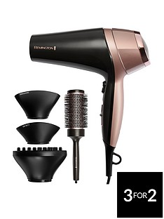 Remington D5706 Curl and Straight Confidence Hairdryer
