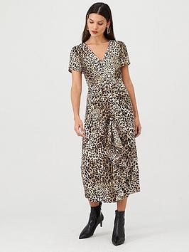 v-by-very-leopard-ruffle-front-midi-dress-leopard