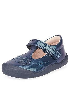 start-rite-first-mia-shoes-navy-glitter
