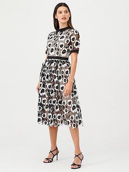 v-by-very-collar-mono-lace-midi-dress-monochrome
