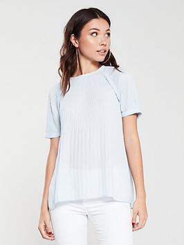 river-island-plisse-top-blue
