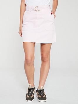 river-island-denim-skirt-pink