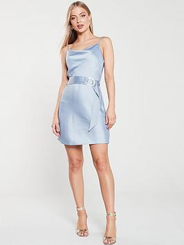 river-island-slip-mini-dress-blue