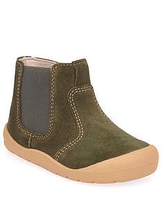 start-rite-first-chelsea-boots-khaki