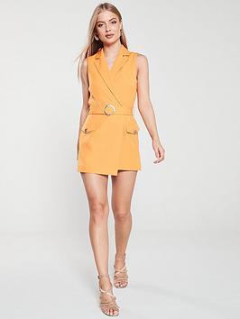 river-island-tailored-playsuit-orange