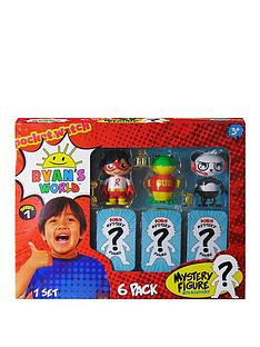 ryans-world-ryans-world-6-pack-collectible-mystery-figure-set