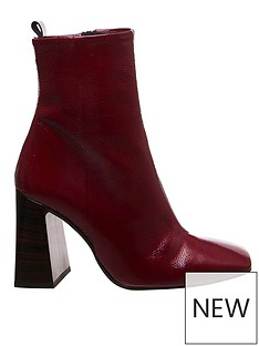 office-all-together-ankle-boots-burgundy