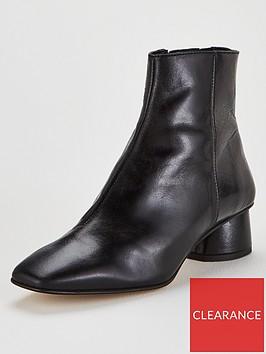 office-almond-ankle-boots-black