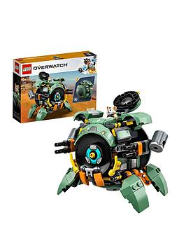 lego-overwatch-75976-wrecking-ball-to-battle-mech-with-hamster-pilot