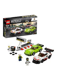 LEGO Speed Champions 75888 Porsche 911 RSR and 911 Turbo 3.0 Race Cars