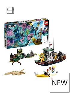 LEGO Hidden Side 70419 Wrecked Shrimp Boat AR Lego Games with Lego app