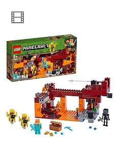 LEGO Minecraft 21154 The Blaze Bridge with Alex and Skeleton Figures