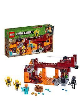 lego-minecraft-21154-the-blaze-bridge-with-alex-and-skeleton-figures