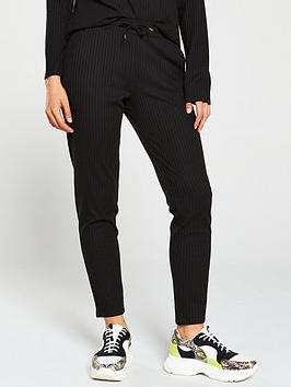 v-by-very-ribbed-snit-slim-co-ord-joggers-black