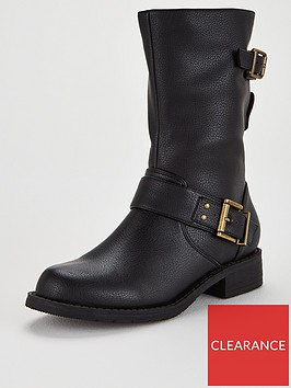 office-kim-wide-fit-calf-boots-black