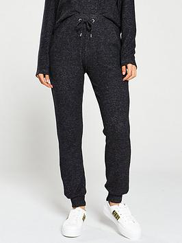 v-by-very-knittednbspdrawcord-co-ord-jogger-black